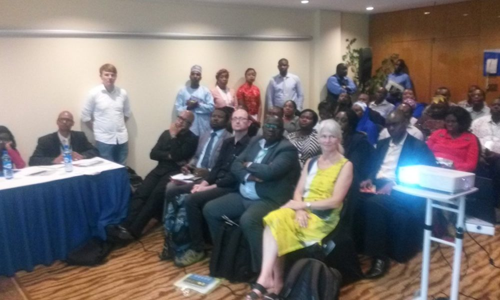 Cross section of participants at the Nigeria Centre for Disease Control and Nigeria Field Epidemiology Training Program (NCDC/NFELTP) Pre-conference workshop on AMR held at the Transcorp Hilton Abuja, July 2017